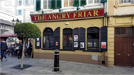 The Angry Friar Logo